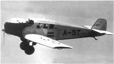 Airplane Junkers F-13
