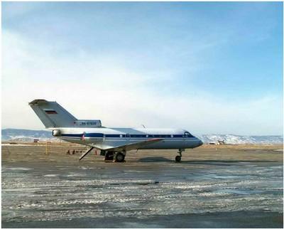 Airplane Yak-40