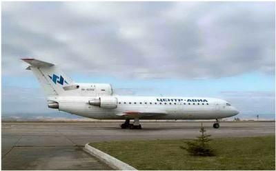 Airplane Yak-42