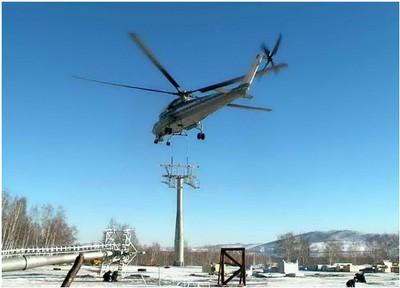 Вертолет Ми-10К (ГЛЦ на оз.Банном)