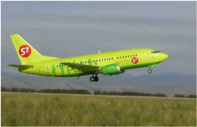 Самолет В-737-500