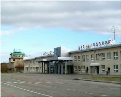 Аэровокзал и КДП
