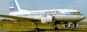 Самолет Ил-14 конструкции С.В. Ильюшина