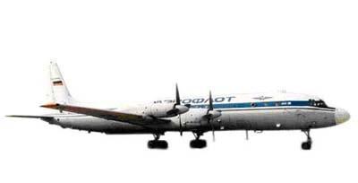 Самолет Ил-18 конструкции ОКБ Ильюшина