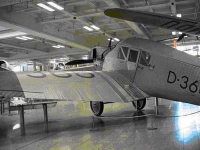 Junkers F-13. В музее