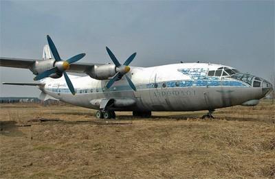Самолет Ан-10 конструкции О.К. Антонова