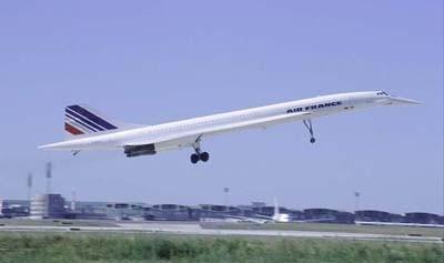Англо-французский самолет Конкорд