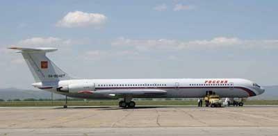 Самолет ОКБ Ильюшина Ил-62