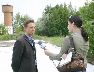 Интервью для телевидения
